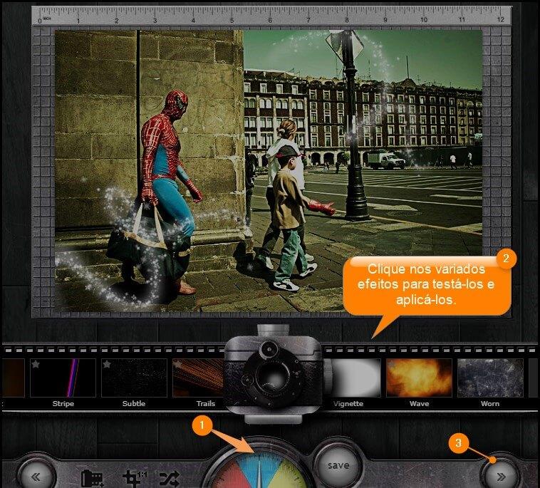 efeitos para fotos