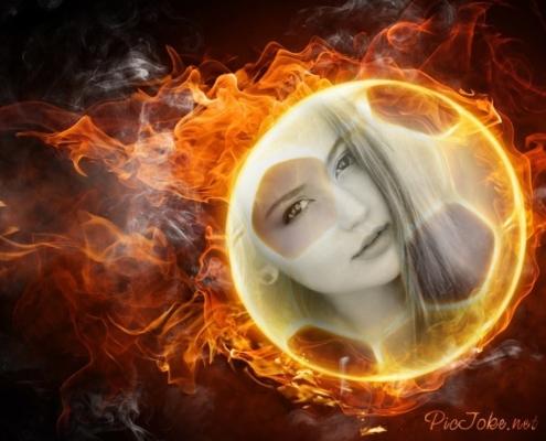 fogo efeito