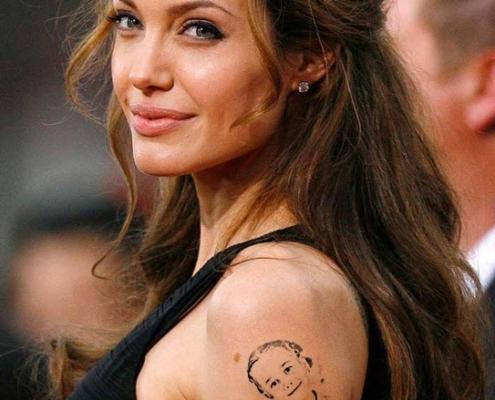 montagem tatuagem