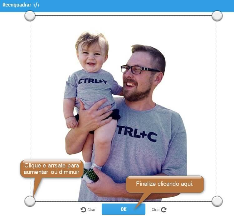 cortar foto pais